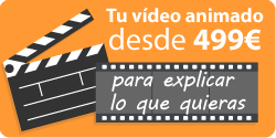 Oferta vídeo corporativo gráficos animados