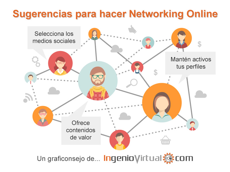 Consejos para hacer Networking Online