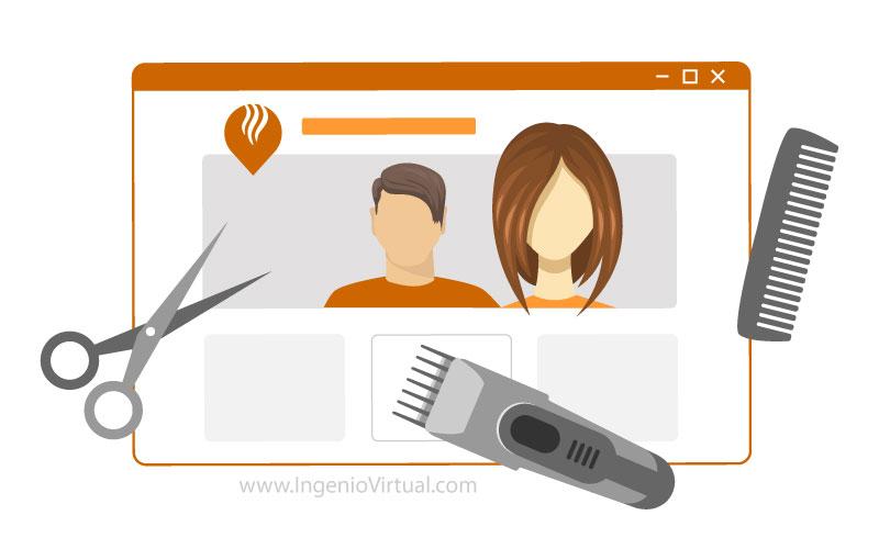 Tips de diseño web para peluquerías
