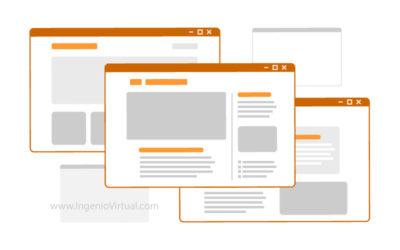 ¿Qué es una página web y cuántos tipos hay?